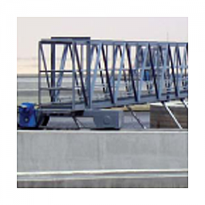 sedimentador primario de rastras revolventes tratamiento primario de aguas residuales